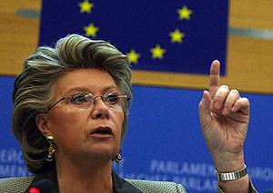 EU Information Society Commissioner Viviane Reding