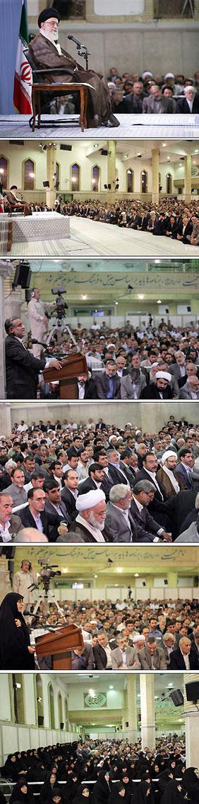 عکسها از پایگاه اطلاع رسانی دفتر مقام معظم رهبری