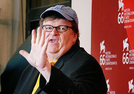 US director Michael Moore