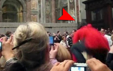 The woman who assaulted the Pope was identified as Susanna Maiolo, 25, a Swiss-Italian national.