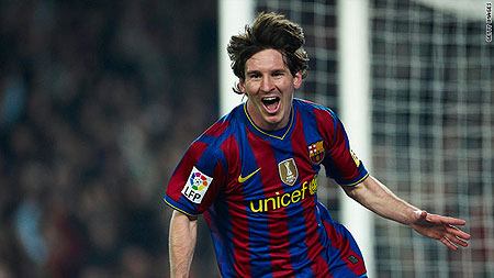"""Lionel Messi has replaced David Beckham as the best-paid player in world football, according to France Football magazine's annual """"rich list""""."""
