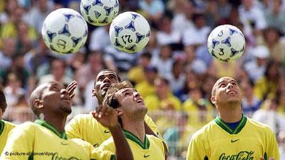 ستارگان تیم ملی فوتبال برزیل در جام جهانی ۱۹۹۸ فرانسه