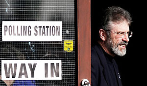 Gerry Adams (Photo: Reuters)